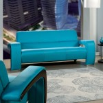 ENEZ SOFA IN BLUE SM6015-SF